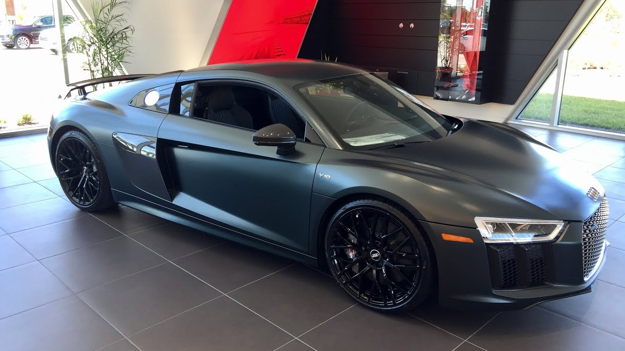 2017 Audi R8 V10 Plus Coupe Is This Car Better Then The