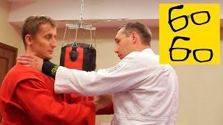 Самооборона на улице и удар в кадык — урок самообороны Максима Иванова (армейский рукопашный бой)(Подписка на канал