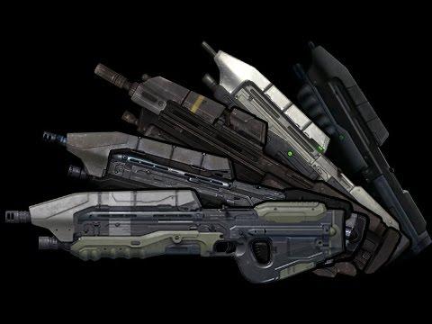 Halo 5 | Weapons Evolution | Evolucion de las armas de la sa  Halo Weapons