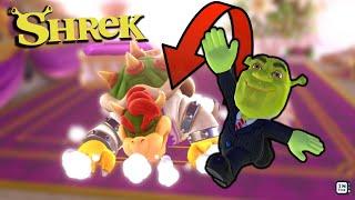 SHREK vs BOWSER?!! - Super Mario Odyssey Modding #supermarioodyssey