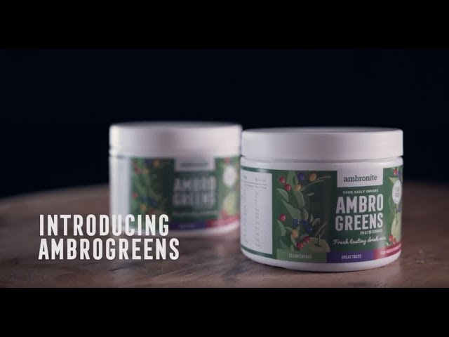 AMBROGREENS // 60 Servings video thumbnail