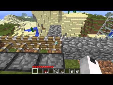 how to make a cobblestone generator without losing cobblestone
