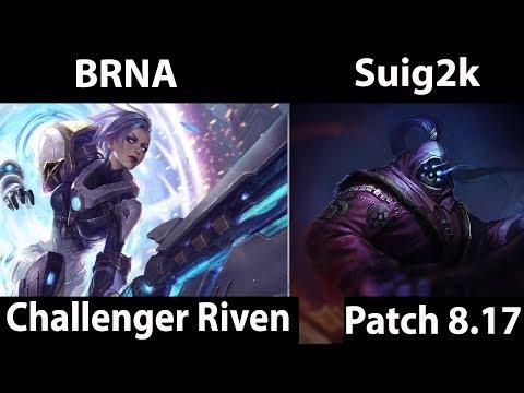 [ BRNA ] Riven vs Jax [ Suig2k ] Top - BRNA Riven Gameplay