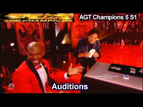 Shin Lim card magician MIND BLOWING AGAIN!!!  Audition | America's Got Talent Champions 5 AGT