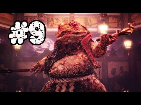 Nioh: Complete Edition прохождение #9 Босс который ваншотит►Жаба-вейпер►Full hd 60 fps