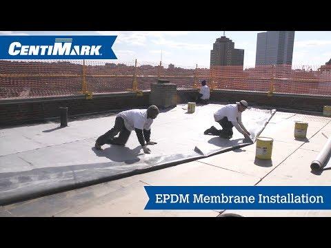epdm-roof-system-installation-video- -epdm-membrane- -centimark