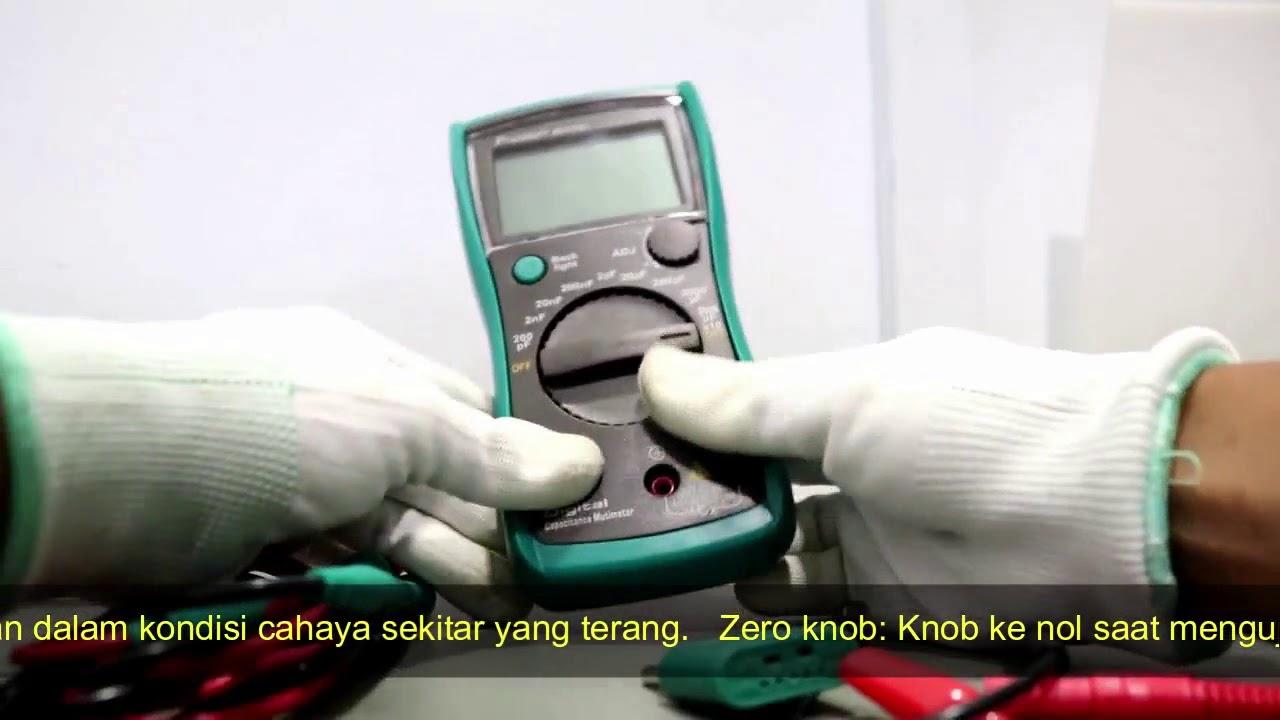 ProsKit MT-5110 Capacitance Meter Pro/'sKit