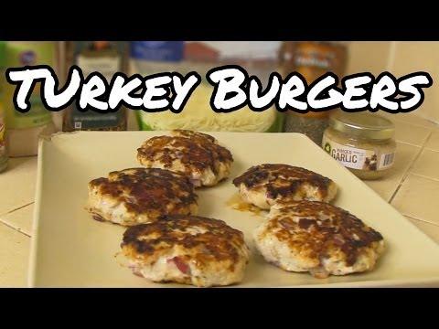Healthy Turkey Burgers Recipe