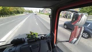 [Helmet Cam] Zastęp 309[N]61 OSP Olsztyn-Gutkowo  Przejazd alarmowy przez Olsztyn!!!