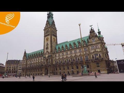 HAMBURG City Center - Innenstadt Zentrum Shopping Sightseeing   Hamburg and Travel