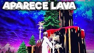 Aparece Lava del Volcán - Fortnite Temporada 6