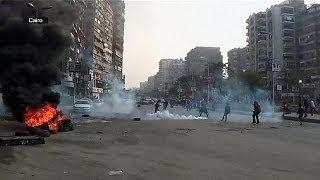 صدامات بين متظاهرين وقوات الأمن في مصر