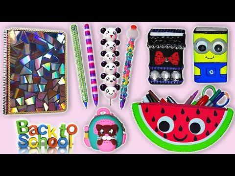 ♥ DIYS: Ideas para la Vuelta a Clases || Back to school DIYS ♥