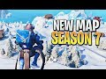 The NEW Fortnite Map is AMAZING!! (Fortnite Season 7 Gameplay)