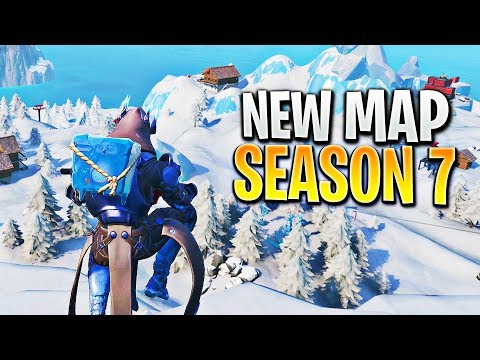 The NEW Fortnite Map is AMAZING!! (Fortnite Season 7 Gameplay)