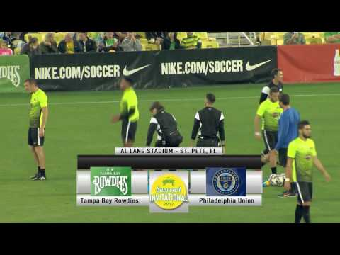 Tampa Bay Rowdies vs. Philadelphia Union- February 18, 2017 - ROWDIES SUNCOAST INVITATIONAL