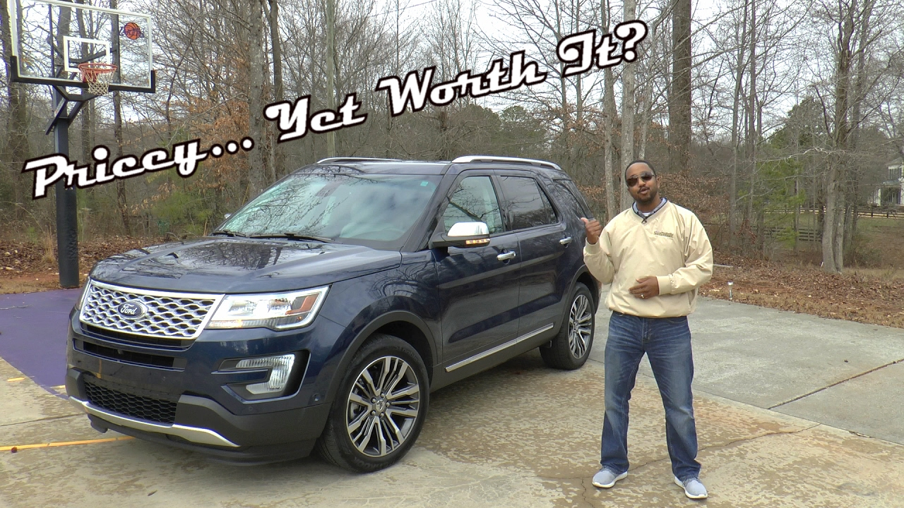 2015 Range Rover Price >> 2017 Ford Explorer Platinum 4WD Review - Pricey... Yet Worth It? - YouTube
