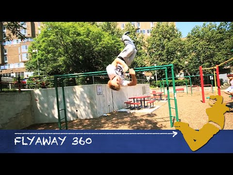 Parkour From Scratch #44 - Flyaway Full Tutorial - Advanced Free Running