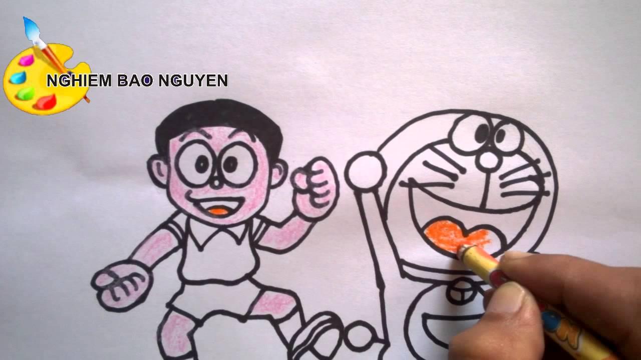 Vẽ Nobita và Doremon/How to Draw Nobita and Doraemon
