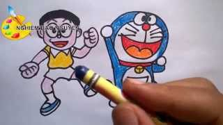 Vẽ Nobita và Doremon/How to Draw Nobita and Doraemon