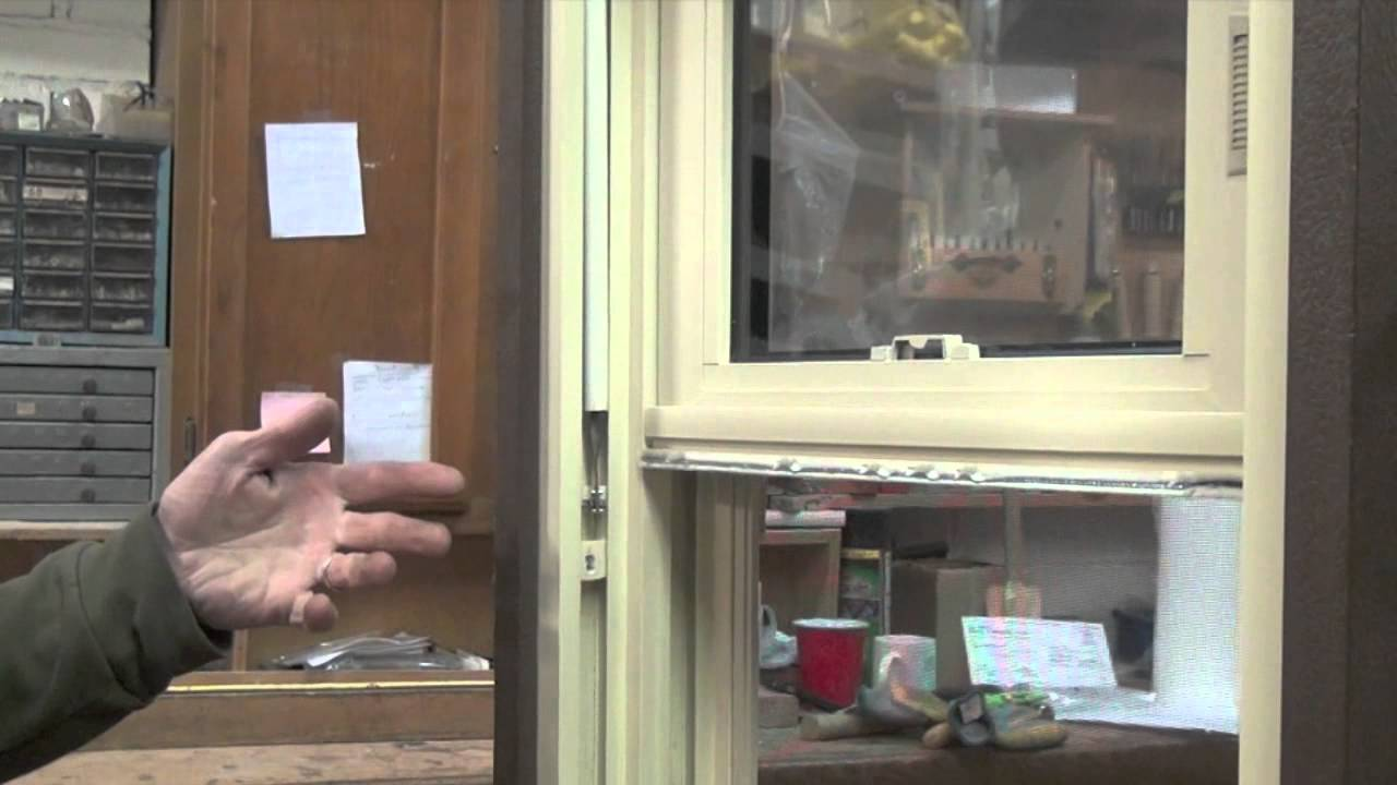 Replacing a Spiral Balance in a Window  YouTube