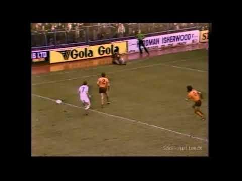 Leeds United Movie Archive - Leeds V Wolverhampton Wanderers - Lost 1-3 1980-81