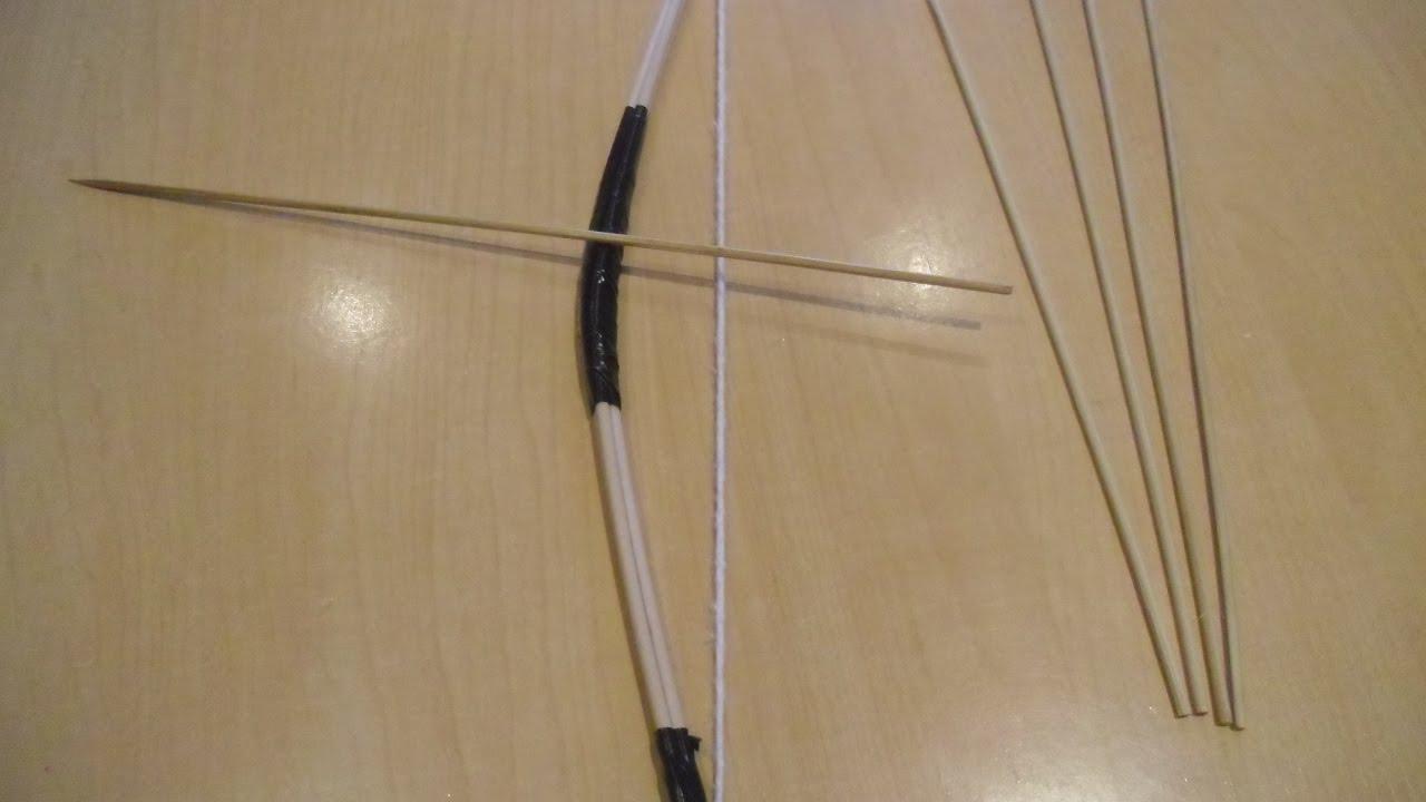 Arco casero de madera como hacer un un arco peque o y - Como hacer un altillo de madera ...
