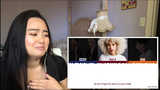 Gambar cover HONNE - Crying Over You ◐ (feat. RM & BEKA) REACTION