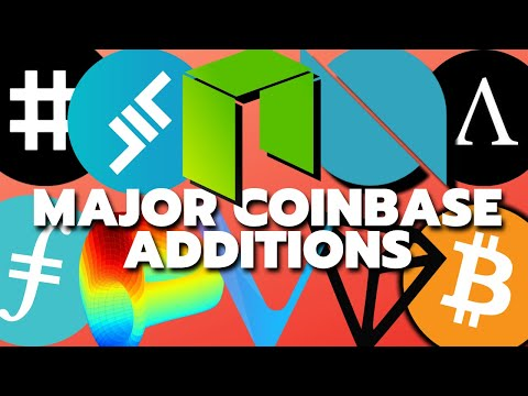 Coinbase Custody: Aave, Ampleforth, Curve Finance, Neo, Reserve Rights, Tron, VeChain, WBTC