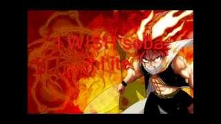 Fairy Tail - I wish (Full with lyrics)