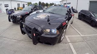 That's One Fast American Police Car!!!