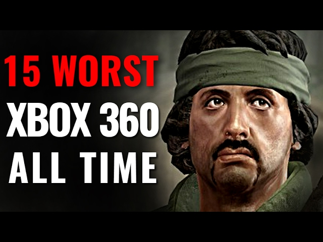 15 Worst Xbox 360 Games of All Time [Final]