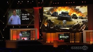 World of Tanks X360 Edition - E3 2013 Microsoft Press Conference