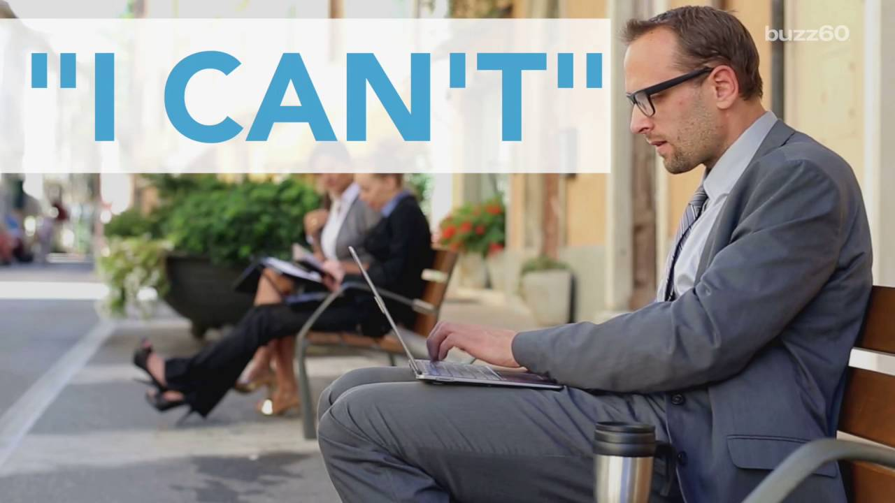 7 phrases that can not speak at work