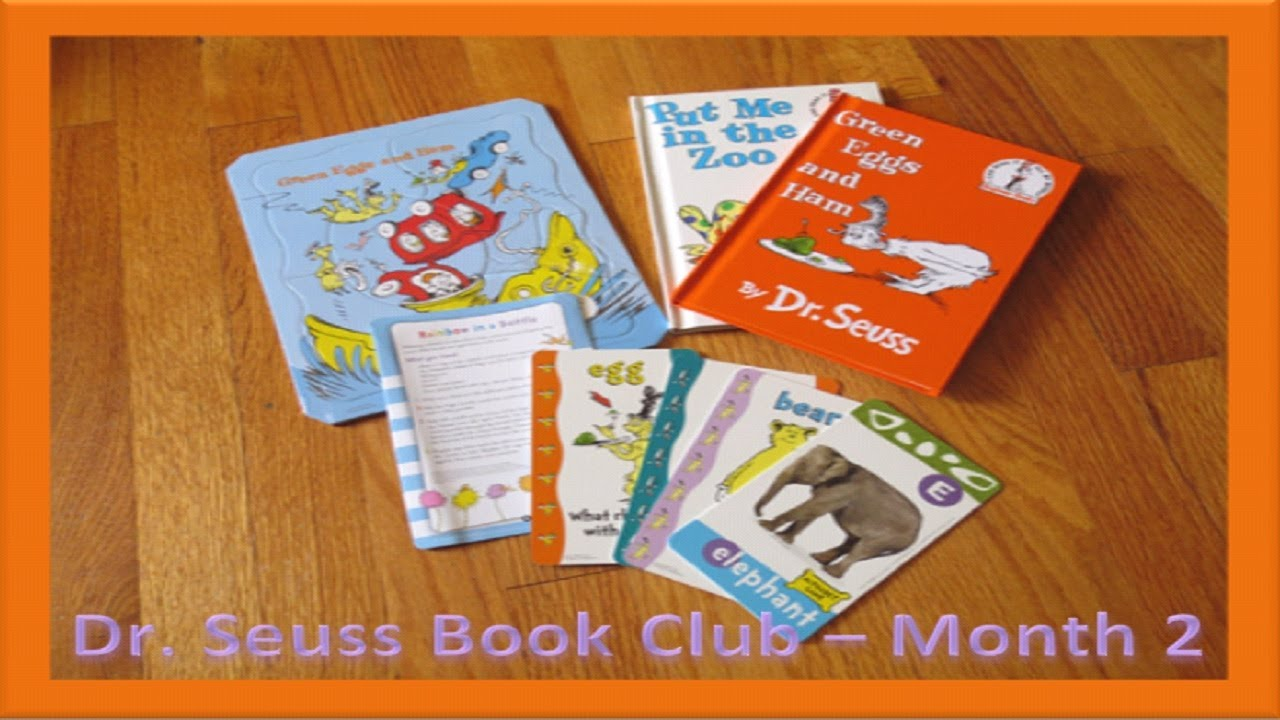DR SEUSS MONTHLY BOOK CLUB