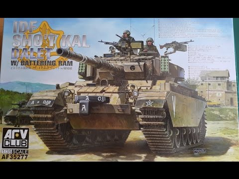 Unboxing of: AFV Club Sho't Kal Dalet #35277
