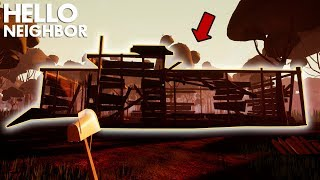 The Neighbor S House BURNED DOWN Hello Neighbor Official Release Act 3