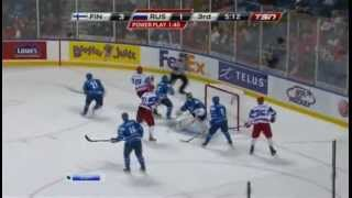 Россия - Финляндия, 1/4 финала U20-2011, часть 3/4