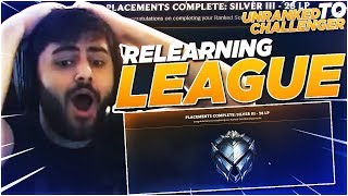 Yassuo | RELEARNING LEAGUE FROM SCRATCH! (Unranked to Challenger)