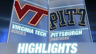 Virginia Tech vs Pittsburgh | 2014 ACC Football Highlights