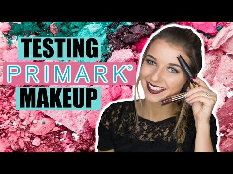 TESTING PRIMARK MAKEUP| Bronzed Berry Look