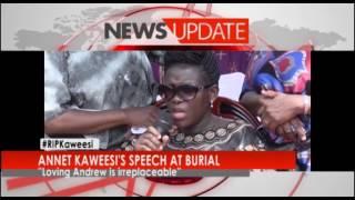 NEW VISION TV: Annet Kaweesi