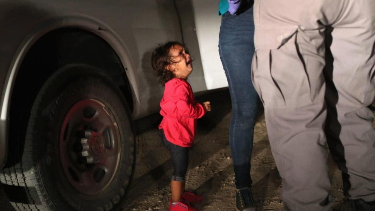 The Real Story Behind the Crying Girl in Heartbreaking Immigration Photo
