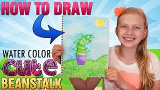 Paint a Cute Whatever After Beanstalk || Art with Alyssa