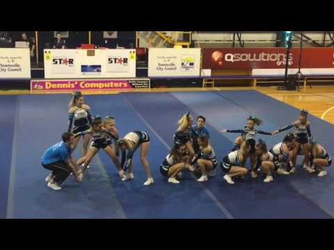 3  Cheerleading Performance 'Galaxy Team'