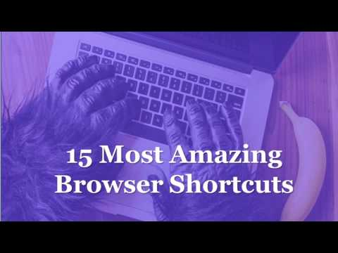 Top 15 Most Useful Browser keyboard shortcuts