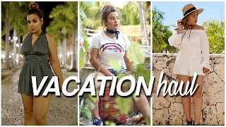 VACATION HAUL | H&M, FOREVER21 + MORE! | #FUNtasticFebruary