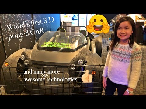 World's first 3D printed CAR | awesome technologies
