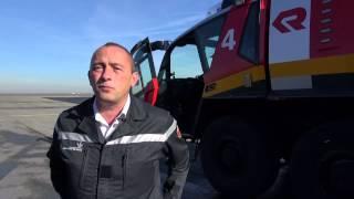 Pompiers à Roissy