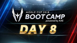 ROV : World Cup Bootcamp 2018 (playoffs) Day 8